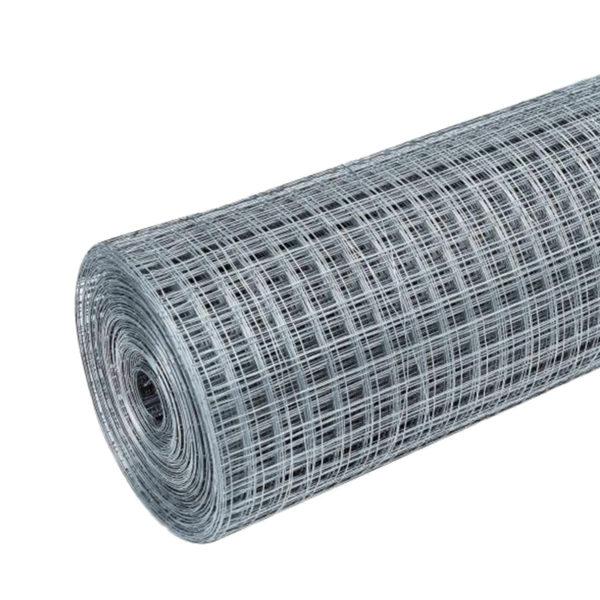Сетка штукатурная сварная, 10x10 мм, d=0,6-0,7 мм, рул. 1x15 м, оцинк.
