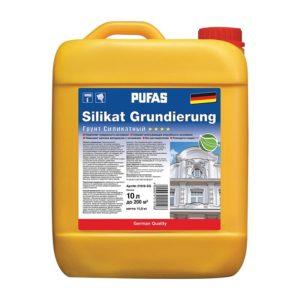 Грунт силикатный укрепляющий SILIKAT GRUNDIERUNG (10 л)