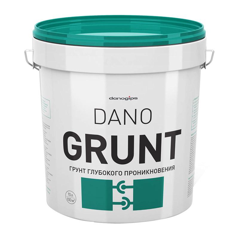 Грунт глубокого проникновения Dano GRUNT (10 л)