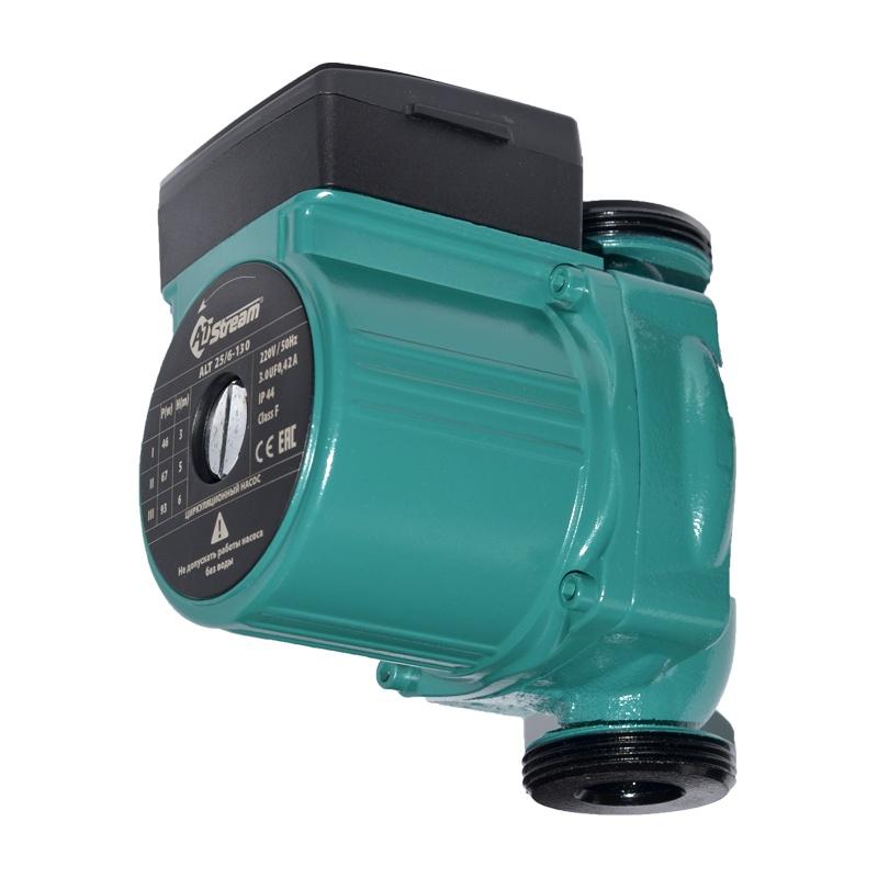 Насос циркуляционный для систем отопления 3-х скоростной 25/6-130 мм