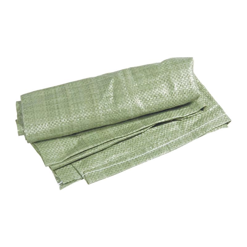 Мешок для строит. мусора полипропиленовый тканный 50х90 см (зеленый) (уп.100 шт)
