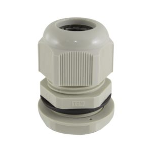 Сальник PG 21 для ввода кабеля d=13-18мм, серый, IP54 (уп. 2 шт)