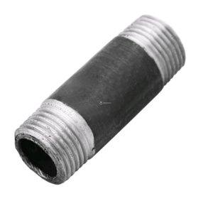 Бочонок ДУ15 стальной 20, черный ГОСТ 3262-75