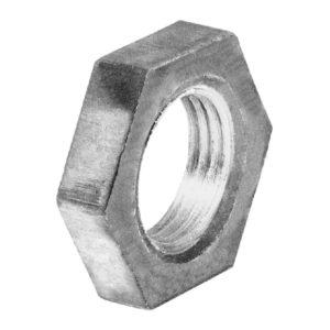 Контргайка ДУ15 стальная 20, оцинк. ГОСТ 8968-75