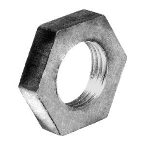 Контргайка ДУ15 стальная 20, черная ГОСТ 8968-75