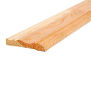 Наличник деревянный фигурный клееный 75х2200 мм