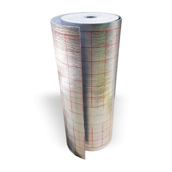 Подложка из вспененного п/э д/трубы теплого пола 3 мм 1,2х25 м