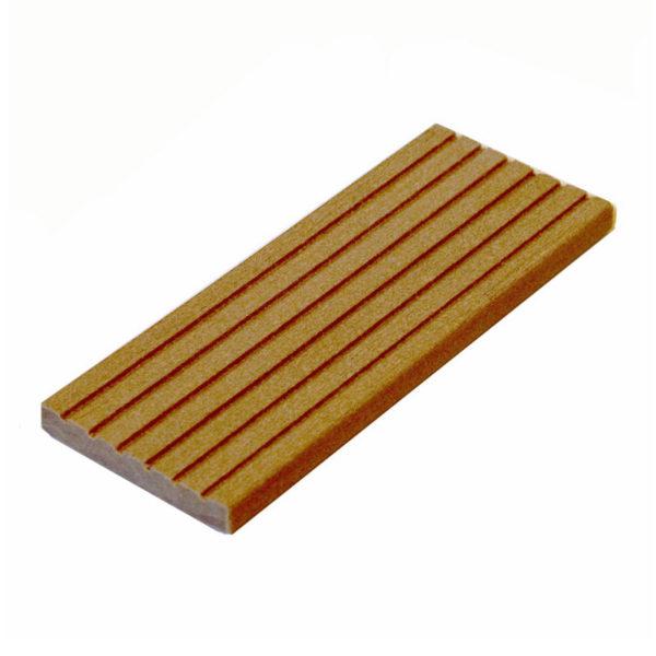 Торцевая планка для террасной доски ДПК (декинга) 10х70х3000 мм, орегон