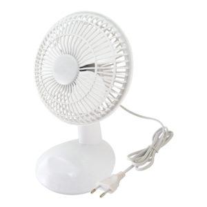 Вентилятор настольный 15 Вт белый