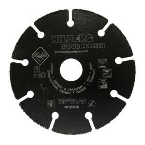Диск пильный карбид-вольфрам для УШМ 125х22х1,7 мм