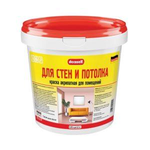 Краска в/д акрилатная для стен и потолков Decoself (0,89 л)